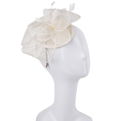 Ladies' Simple/Nice/Pretty Cambric/Feather With Feather Fascinators