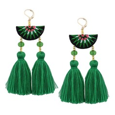 Alloy Cloth Fashion Earrings (Set of 2)