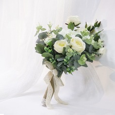 Free-Form Silk/Cloth Bridal Bouquets/Bridesmaid Bouquets - (123201762)