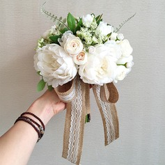 Classic Satin Bridal Bouquets/Bridesmaid Bouquets -