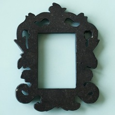 Wedding Dcor - 1pcs Black Baroque Elegant Wall Frame Home Decors