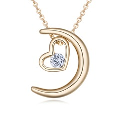 Beautiful Copper/Zircon/Gold Plated/Silver Plated/Rose Gold Plated With Cubic Zirconia Necklaces