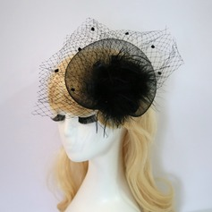Ladies' Fashion/Simple Net Yarn/Villus Fascinators