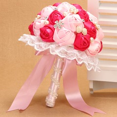 Elegant/Sweet Satin Bridal Bouquets