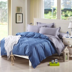 Modern/Contemporary Cotton Comforters (4pcs :1 Duvet Cover 1 Flat Sheet 2 Shams) (203084248)