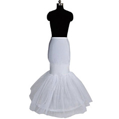Women Nylon/Tulle Netting Floor-length 1 Tier  Petticoats (037004194)
