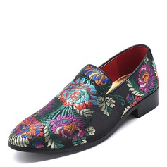 Men's Cloth Penny Loafer Casual Dress Shoes Men's Loafers