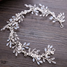 Lovely Alloy Headbands With Rhinestone