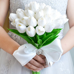 Pure Free-Form Artificial Flower Bridal Bouquets (Sold in a single piece) -