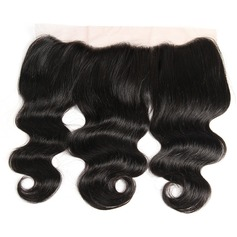 """13""""*4"""" 4A Non remy Body Human Hair Closure (Sold in a single piece) 70g"""