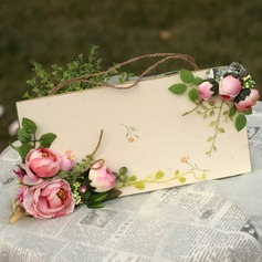 Silk/Hardboard Table Number Cards