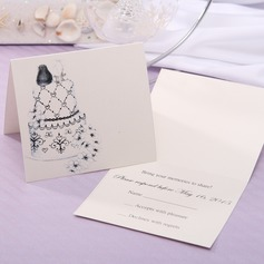 Personalized Modern Style Top Fold Response Cards