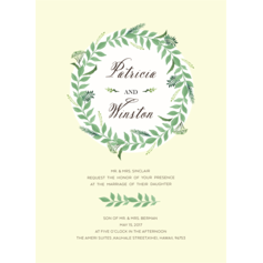 Charming Adoration Wedding Cards