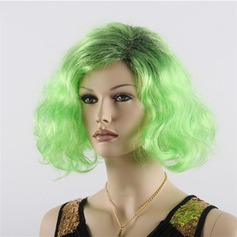 Wavy Synthetic Hair Capless Wigs 120g