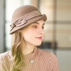 Ladies' Glamourous/Elegant/Simple Wool Floppy Hat