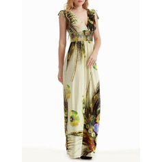 Spandex/Viscose With Print Maxi Dress (199127627)