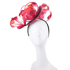 Ladies' Simple/Nice/Pretty Cambric/Feather With Feather/Flower Fascinators/Kentucky Derby Hats/Tea Party Hats