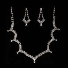 Stylish Alloy/Rhinestones Jewelry Sets