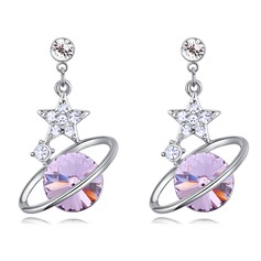 Nice Alloy/Crystal With Crystal Ladies' Earrings