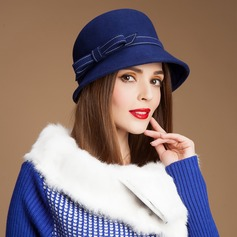 Ladies ' Charmen sommer/Vinter Uld med Bowler / Cloche Hat