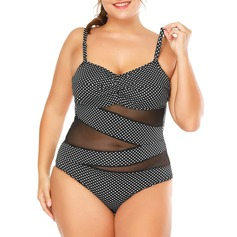 Dot Strap One-piece Swimsuit