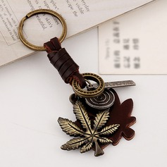 Classic/Lovely Leaf Design Alloy/Iron Keychains