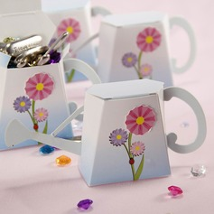 """English Garden"" Watering Can Favor Box"