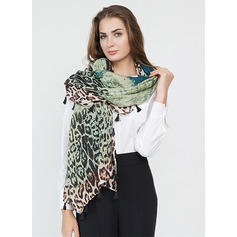 Leopard/Gradient color Oversized/fashion Polyester Scarf
