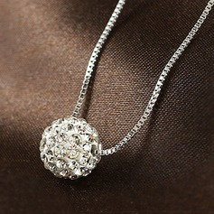 Chic Rhinestones Ladies' Necklaces