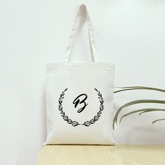 Bridesmaid Gifts - Personalized Graceful Canvas Bag