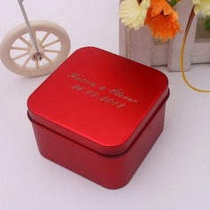 Personalized Cuboid Metal Favor Tin