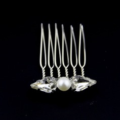 Rhinestone/Alloy/Imitation Pearls Combs & Barrettes (Set of 3)