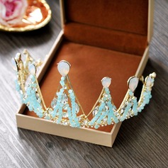 Ladies Lovely Crystal Tiaras With Crystal
