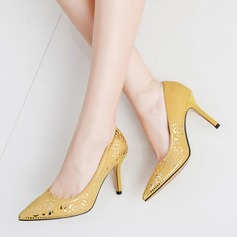 Women's Stiletto Heel Pumps With Applique shoes