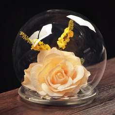 15cm*13cm Elegant Pretty Glass Ornament (Sold in a single piece)