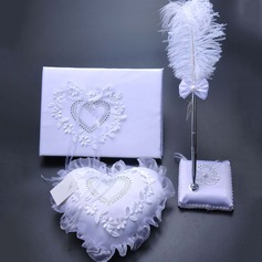 Beautiful Collection Set With Ribbons/Feather (100090981)