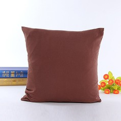 Traditional/Classic Polyester Linen Cotton Pillowcases (Sold in a single piece)