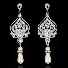 Exquisite Rhinestones Ladies' Earrings