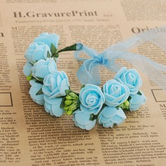 Gorgeous Round Foam Wrist Corsage (Sold in a single piece) - Wrist Corsage