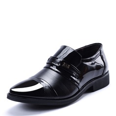 Men's Microfiber Leather Horsebit Loafer Casual Men's Loafers