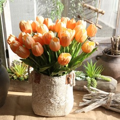 20'' Tulip Plastic Silk Flowers (Set of 6)