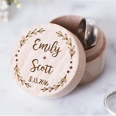 Personalized Ring Box in Wood (103186339)