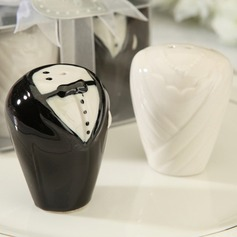 Bride and Groom Salt and Pepper Shakers Wedding Favor