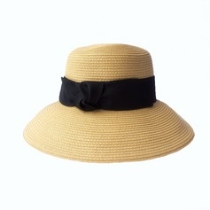 Ladies' Special Papyrus With Bowknot Straw Hat