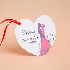 Personalized Bride & Groom Style Invitation Cards With Ribbons