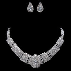 Unique Alloy/Rhinestones Ladies' Jewelry Sets