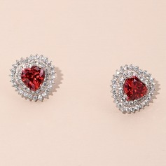 Ladies' Elegant Zircon Earrings For Bride/For Bridesmaid/For Mother/For Friends (011211850)