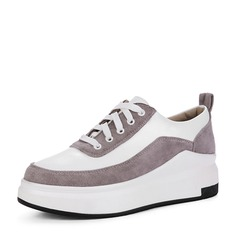 Women's leatherette With Lace-up Sneakers (247147857)