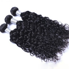 6A Water Wave Human Hair Human Hair Weave (Sold in a single piece)