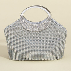 Bright Crystal/ Rhinestone Clutches/Satchel/Top Handle Bags/Bridal Purse/Evening Bags